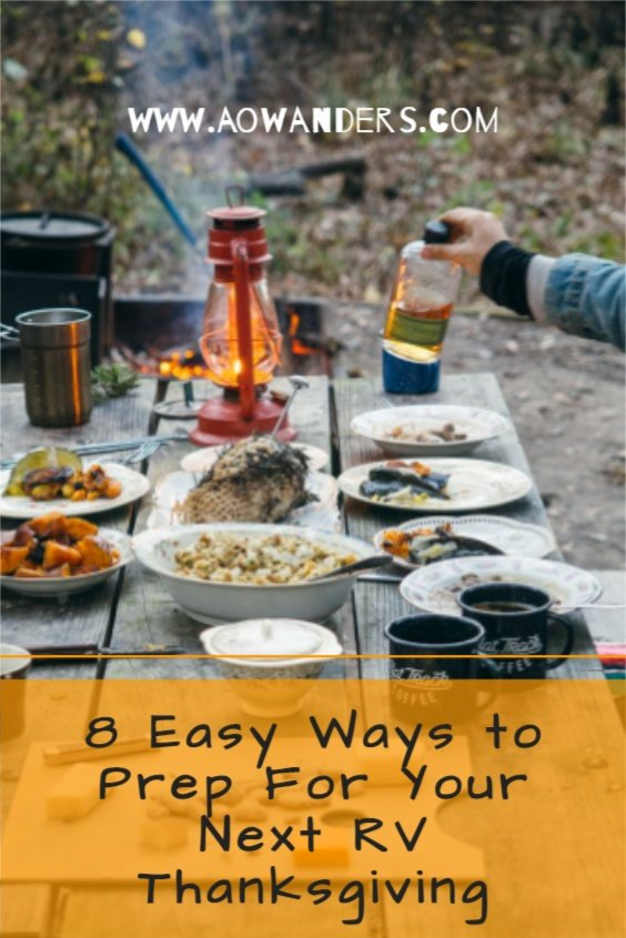 My camping tips to celebrate an RV Thanksgiving