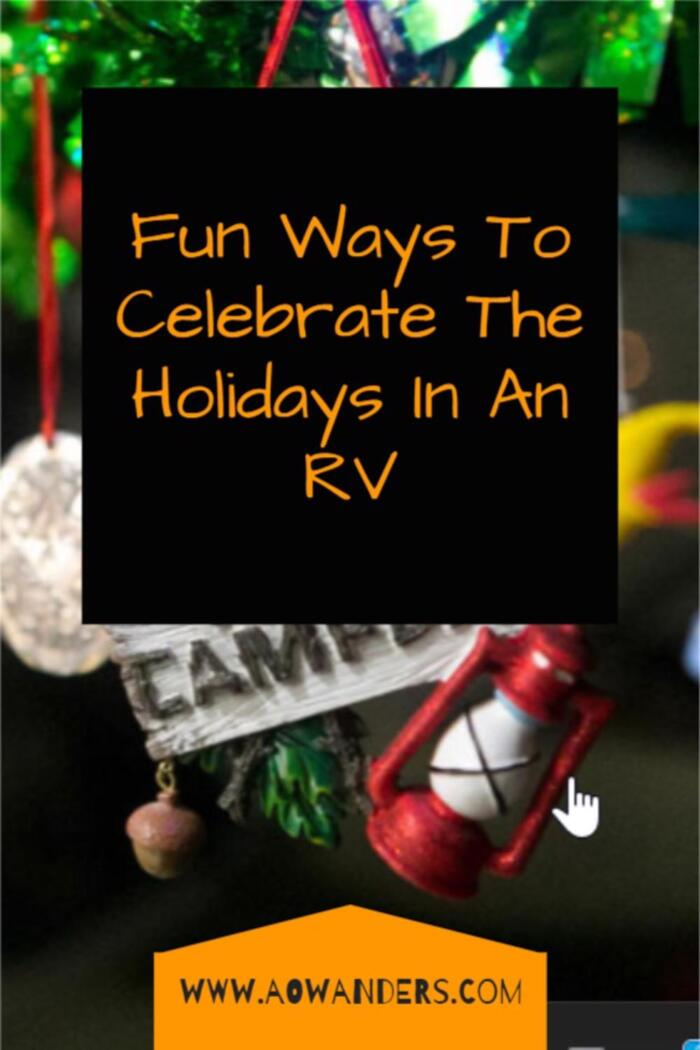 Celebrate Thanksgiving, Christmas & New Years Eve while traveling in an RV