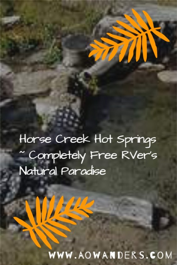 Helpful RVers guide to Horse Creek Campground & Hot Springs in Eastern Idaho within the Frank Church Wilderness Recreational Area