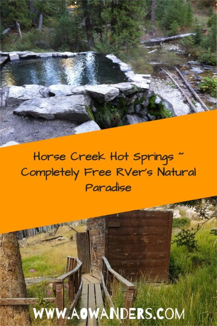 Easy RV guide to the campground near Horse Creek Hot Springs in the Frank Church Wilderness