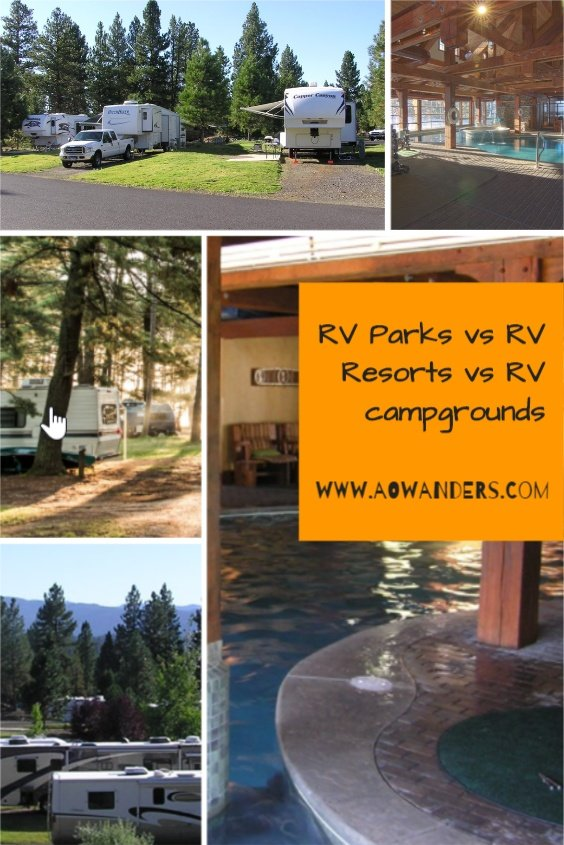 Your guide to the difference between an RV Park, RV Resort, and an RV Campground?