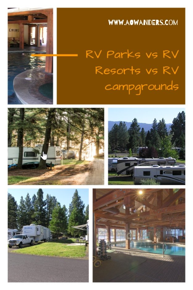 Discover the difference between an RV Park, RV Resort, and an RV Campground?