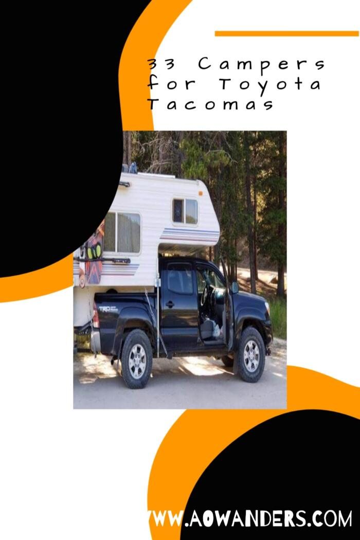 Travel lite truck campers for Toyota Tacomas