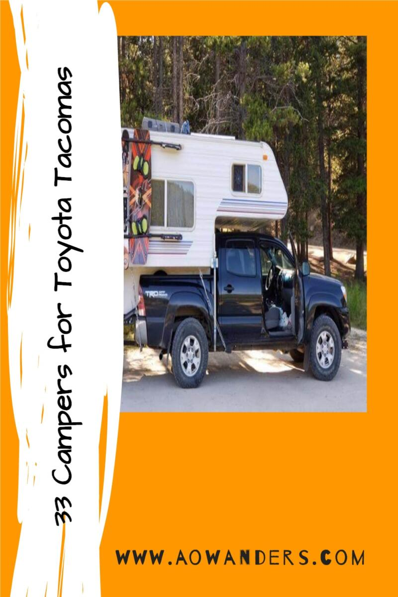 Pickup truck campers that will fit a Toyota Tacoma