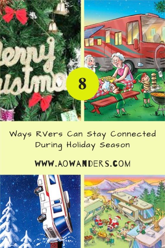Celebrating the holidays while camping in an RV or staying at an RV Park