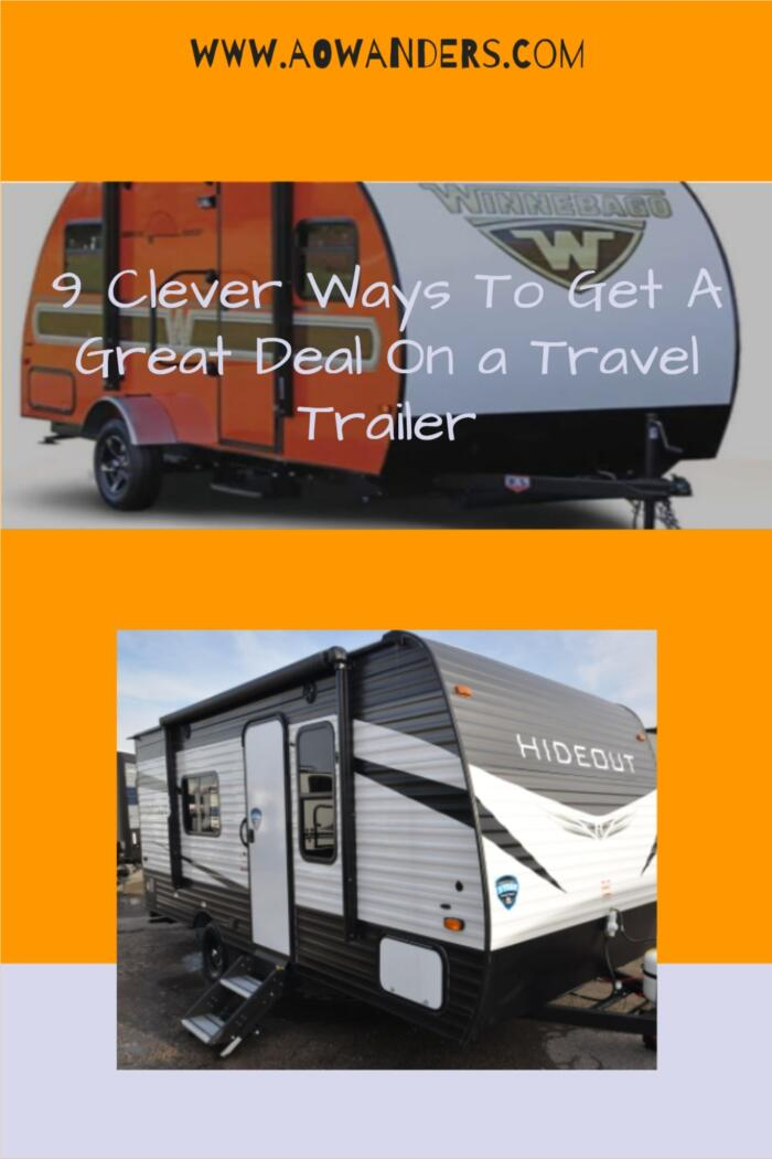 A list of my favorite techniques to get the best deal when buying a travel trailer from an RV dealership