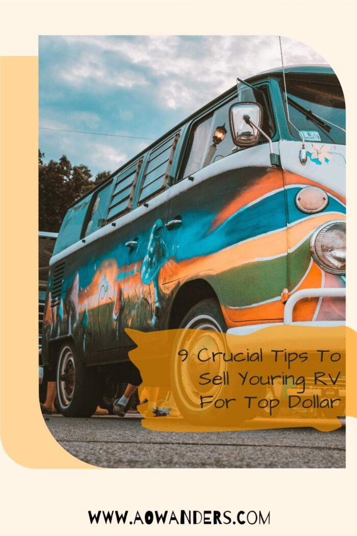 Helpful guide to follow so that you can sell your used camper for the most amount of money.