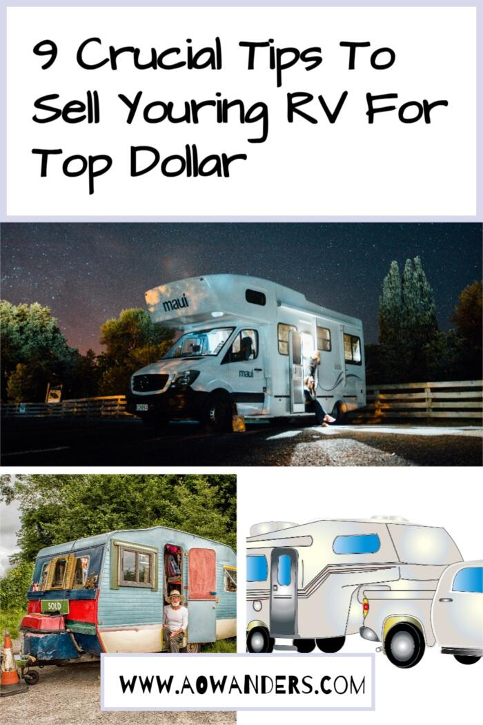 Quick tutorial on how i sell my RV for the big bucks