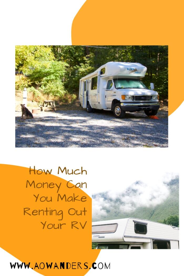 Helpful guide to display how much money you can make if you choose to rent out your RV