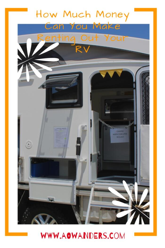 Helpful guide to showing RV owners how much they can make if they choose to rent out their RV