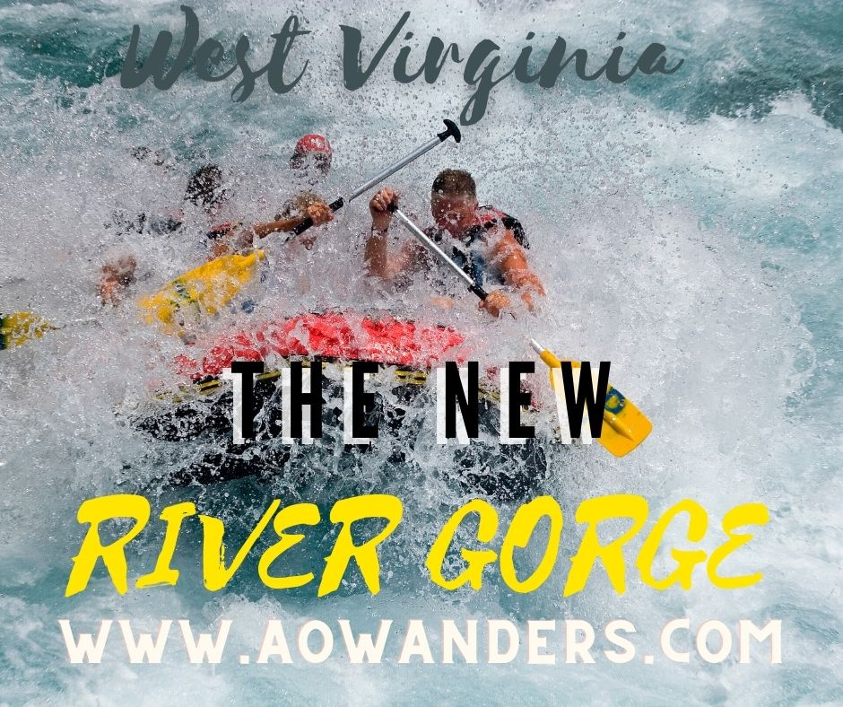 West Virginia WHITE water rafting in the new river gorge national park